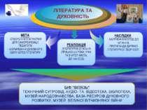 НАСЛІДКИ - ЗАЛУЧЕННЯ МОЛОДІ ДО ЧИТАННЯ; - ПРОПАГАНДА ДИТЯЧОЇ ЛІТЕРАТУРНОЇ ТВО...