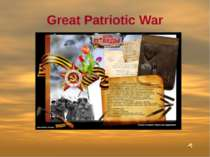 Great Patriotic War