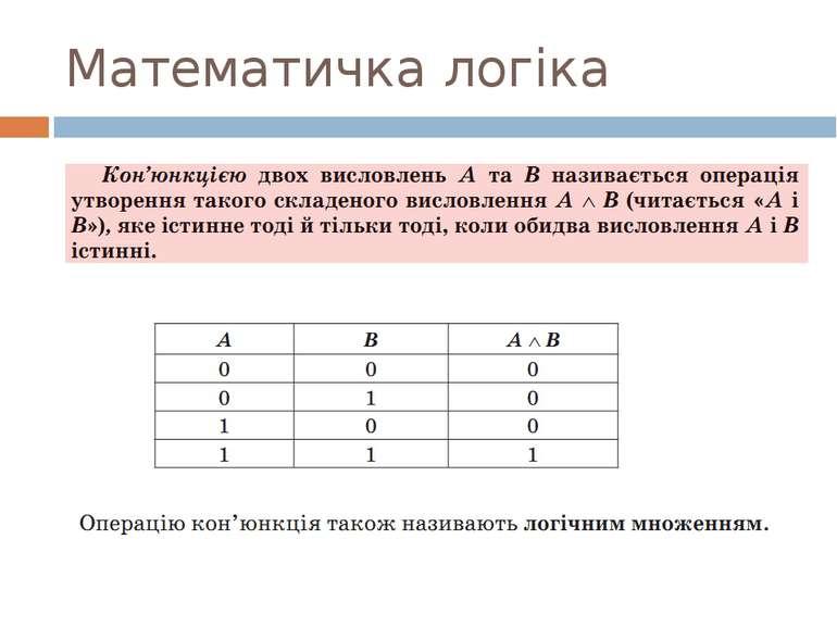 Математичка логіка