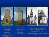 Замок Любарта або Луцький замок. В'їзна вежа замку. Будівництво тривало з 135...