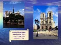 Собор Паризької Богоматері, який знаходиться на острові Сіте