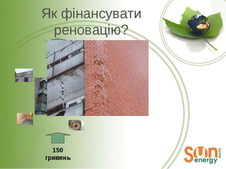 Як фінансувати реновацію? 150 гривень 100 LVL