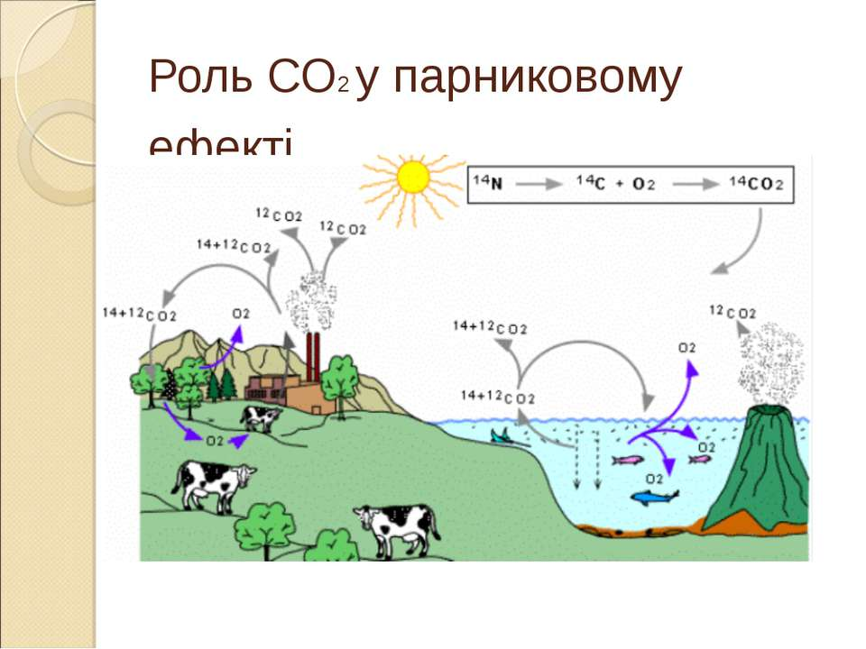 Роль CO2 у парниковому ефекті