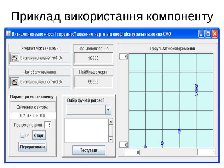 Приклад використання компоненту