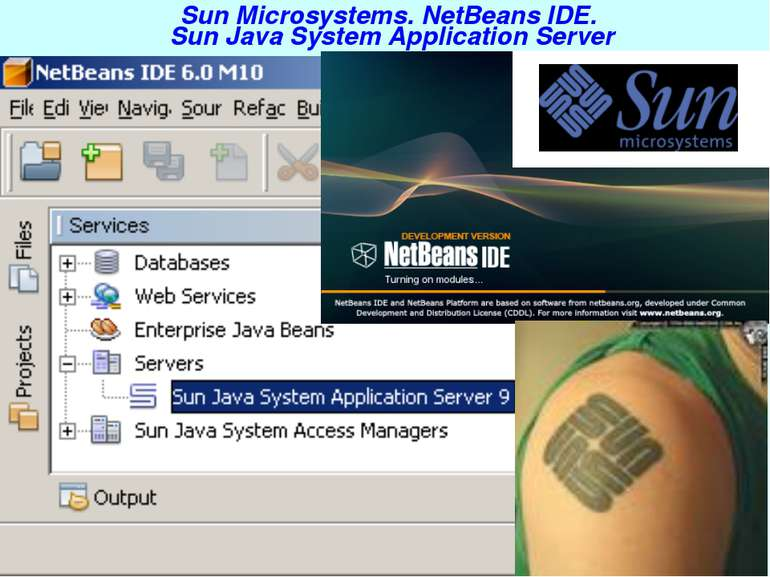 Sun Microsystems. NetBeans IDE. Sun Java System Application Server J2EE