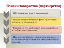 Ознаки товариства (партнерства)
