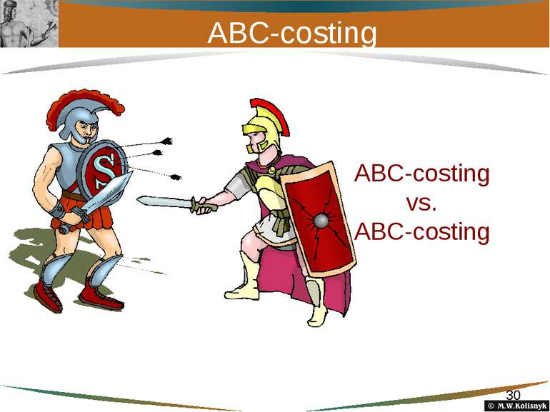 ABC-costing АВС-costing vs. ABC-costing