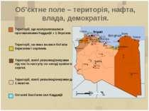 Об'єктне поле – територія, нафта, влада, демократія. Території, що контролюва...
