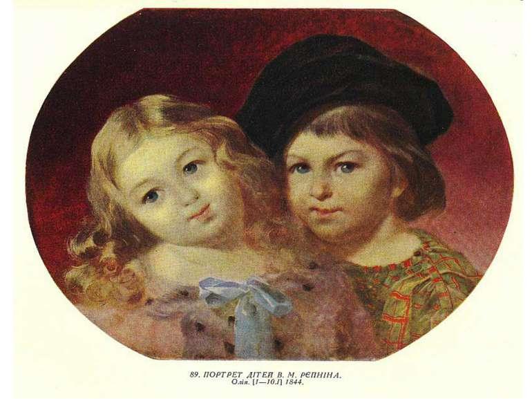 Портрет дітей Репніна
