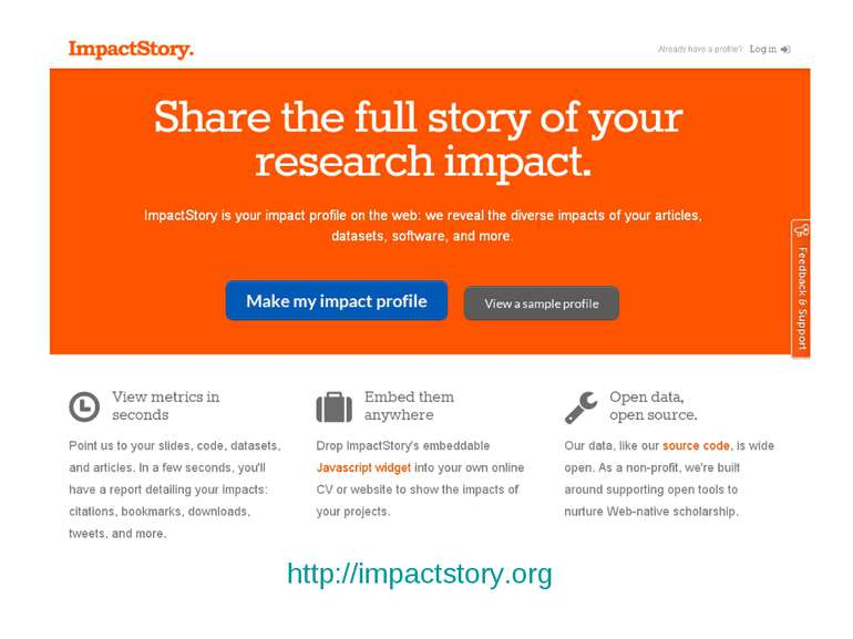 http://impactstory.org