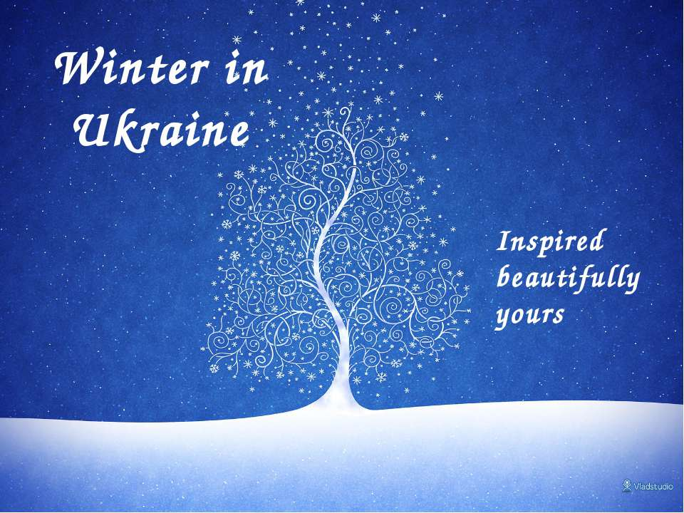 Winter in Ukraine Inspired beautifully yours