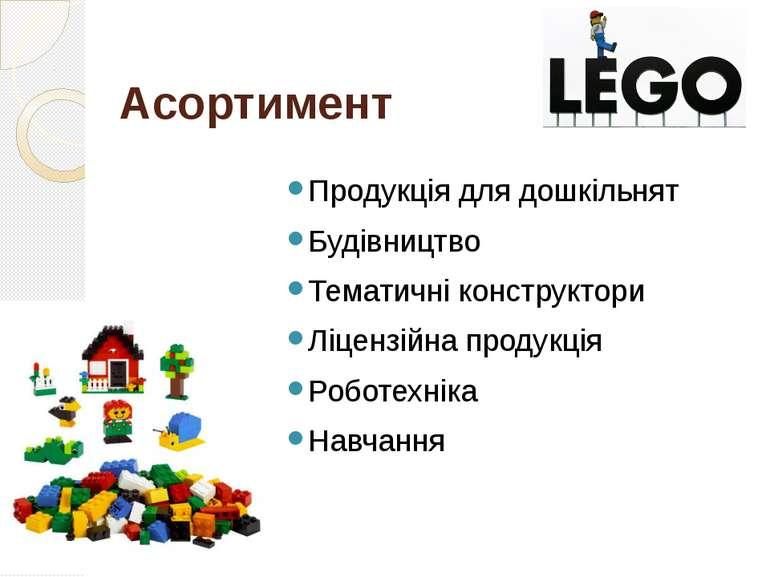 Асортимент Продукція для дошкільнят Будівництво Тематичні конструктори Ліценз...