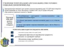 Територіальні (регіональні) тристоронні соціально-економічні ради (ТТСЕР) бул...