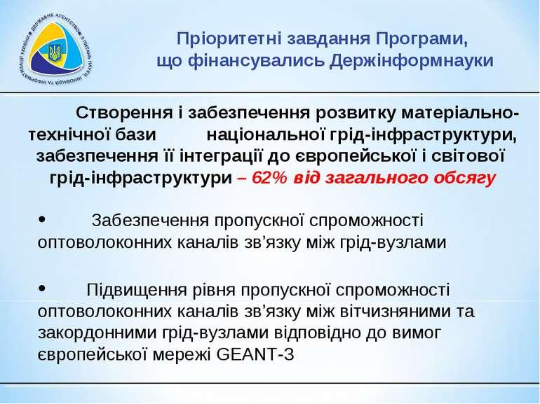 Створення і забезпечення розвитку матеріально-технічної бази національної грі...