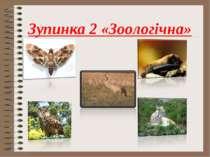 Зупинка 2 «Зоологічна»
