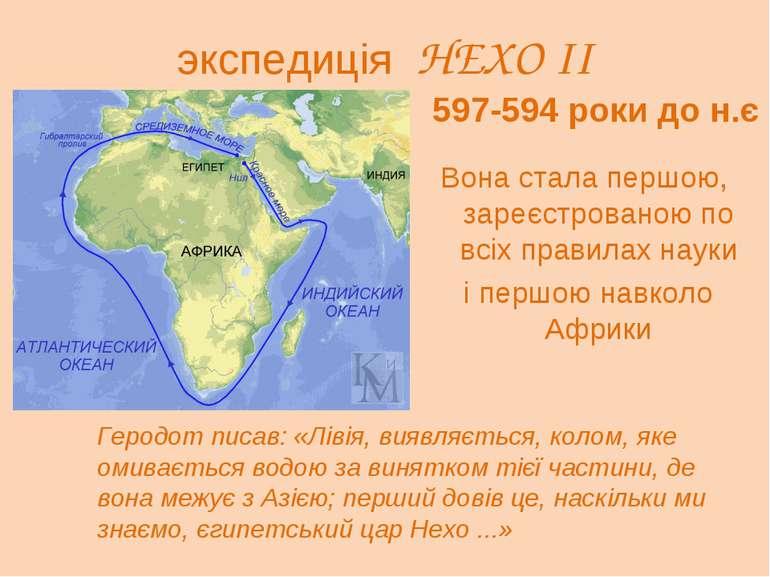 экспедиція НЕХО II Вона стала першою, зареєстрованою по всіх правилах науки і...