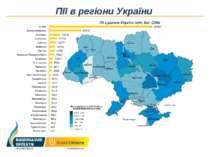 ПІІ в регіони України