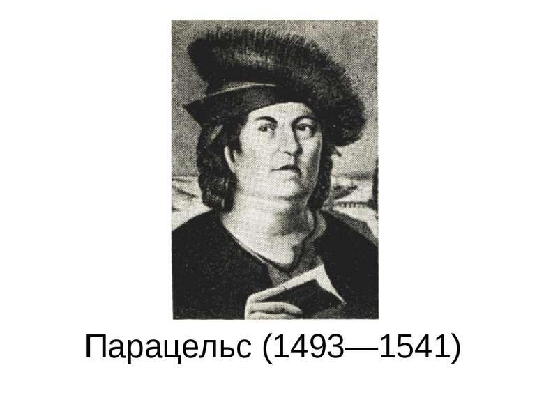 Парацельс (1493—1541)