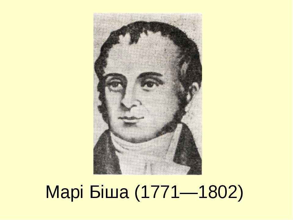 Марі Біша (1771—1802)