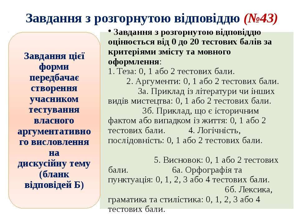 Завдання з розгорнутою відповіддю (№43) Animated SmartArt vertical list (Inte...