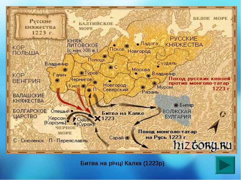 Битва на річці Калка (1223р)