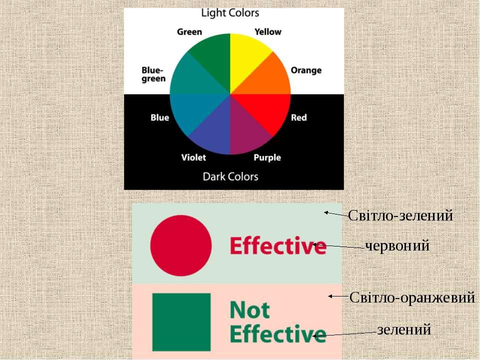 Світло-зелений червоний Світло-оранжевий зелений