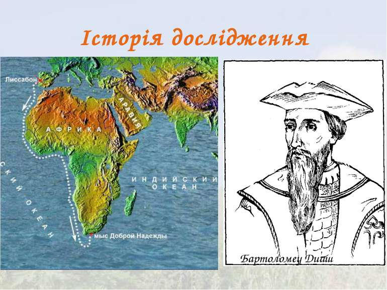 Історія дослідження Бартоломеу Диаш