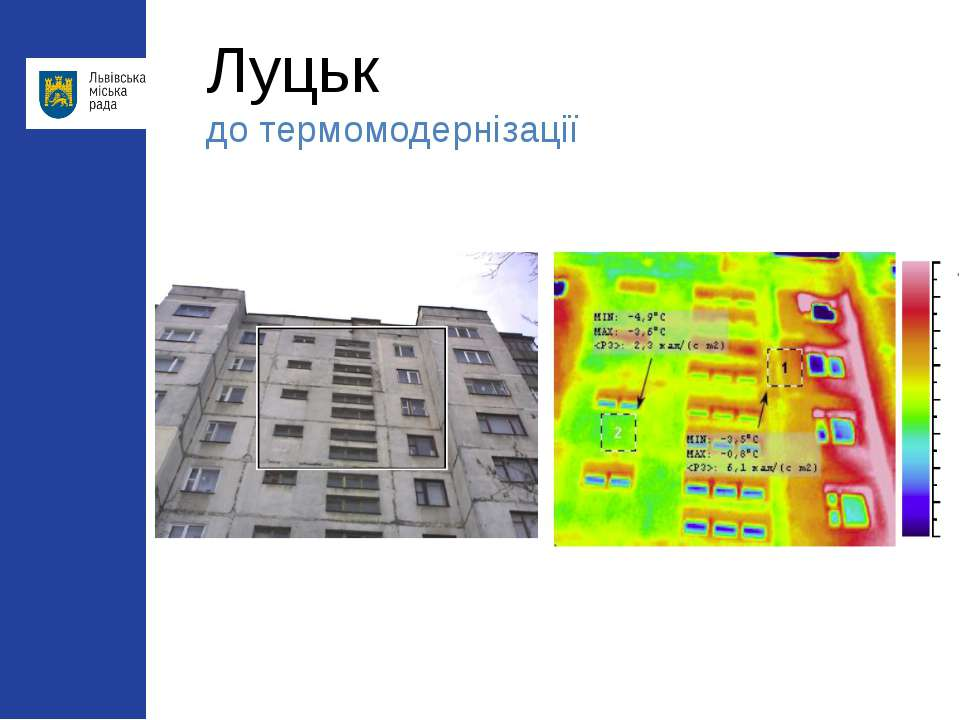 Луцьк до термомодернізації