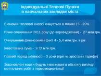 Індивідуальні Теплові Пункти в навчальних закладах міста Економія теплової ен...