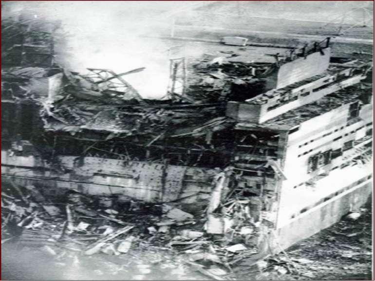 26 квітня 1986 року. Аварія. Початок. Вибух