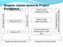 Модель оцінки проектів Project Excellence