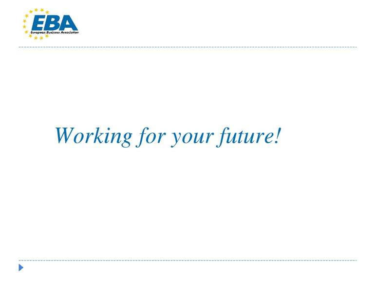 Working for your future!
