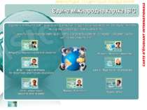 Єдина міжнародна картка ISIC Щорічно у всьому світі більш ніж 1 мільйон студе...