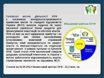 * Головною метою діяльності НУФ є посилення конкурентоспроможності приватних ...
