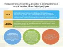 Незважаючи на позитивну динаміку в агропромисловій галузі України, їй необхід...