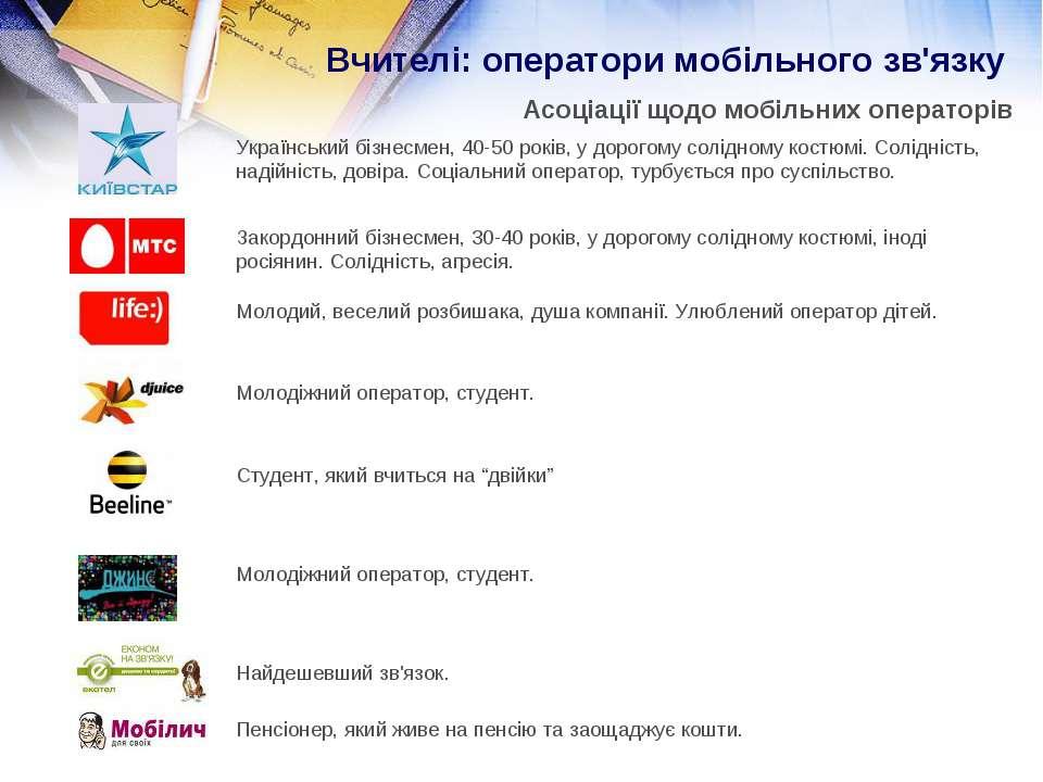 Вчителі: оператори мобільного зв'язку Асоціації щодо мобільних операторів Укр...