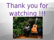Thank you for watching !!!