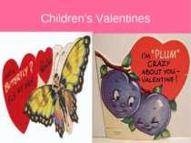 Children's Valentines