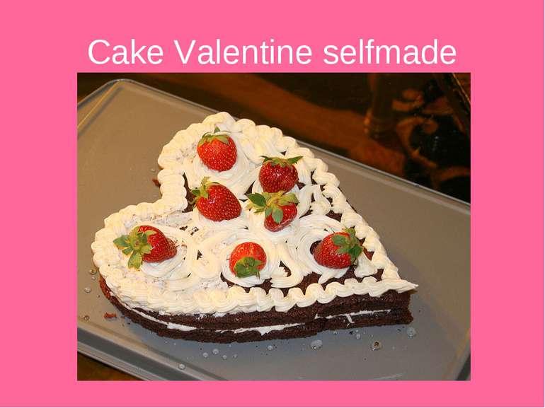 Cake Valentine selfmade
