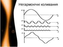 Негармонічні коливання