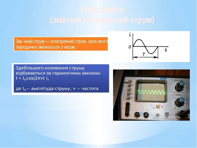 Змі нний струм — електричний струм, сила якого періодично змінюється з часом....