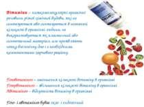Вітаміни – низькомолекулярні органічні речовини різної хімічної будови, які н...