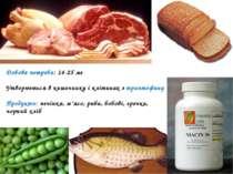 Добова потреба: 14-25 мг Утворюється в кишечнику і клітинах з триптофану Прод...