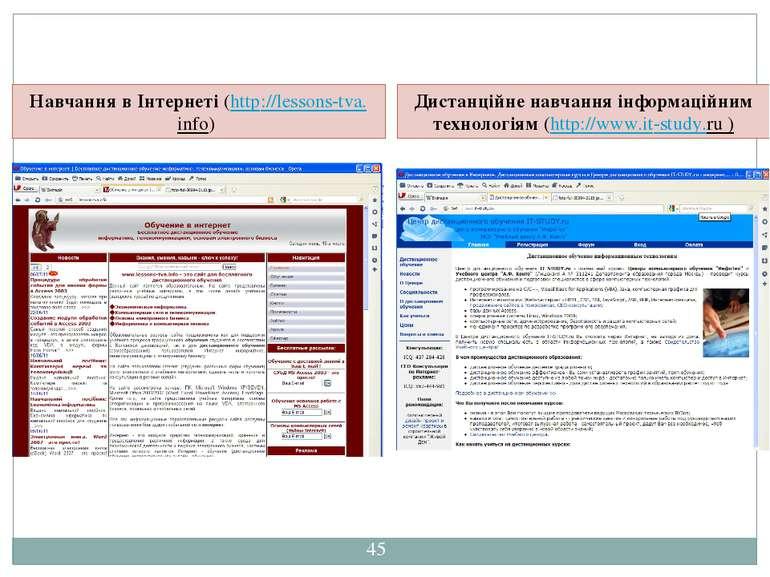 СЗОШ № 8 м.Хмельницького. Кравчук Г.Т. Навчання в Інтернеті (http://lessons-t...