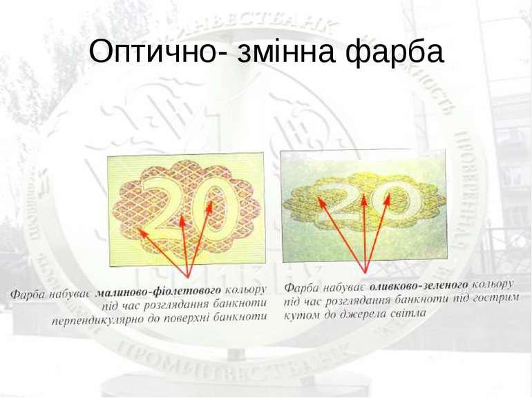 Оптично- змінна фарба