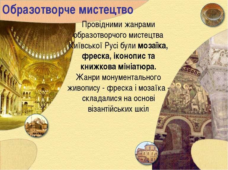 Образотворче мистецтво Провідними жанрами образотворчого мистецтва Київської ...