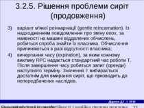 3.2.5. Рішення проблеми сиріт (продовження) варiант м'якої реiнкарнацiї (gent...