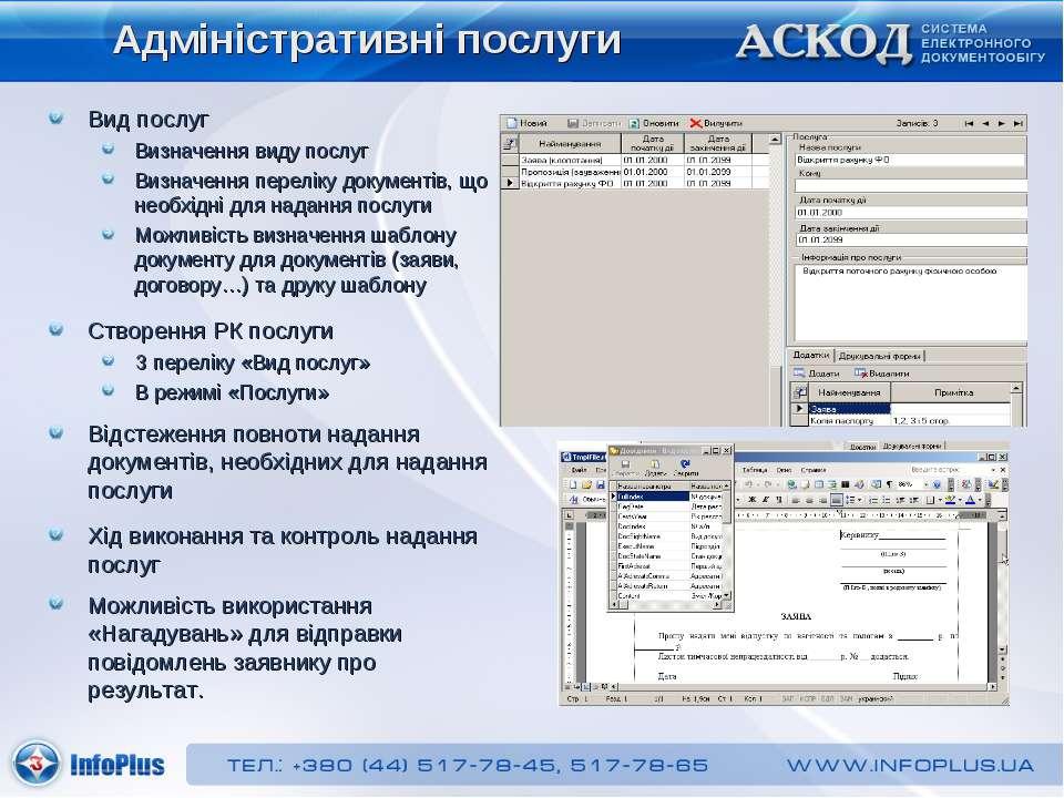Адміністративні послуги Вид послуг Визначення виду послуг Визначення переліку...