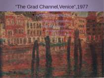 """The Grad Channel,Venice"",1977"