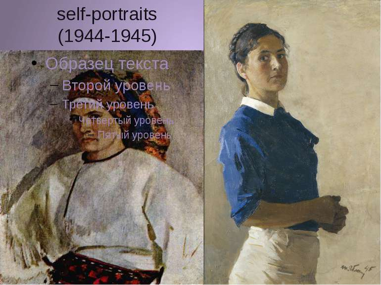 self-portraits (1944-1945)